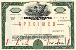 Dictaphone Corporation - New York 1975