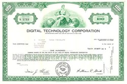 Digital Technology Corporation 1974
