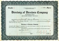Directory of Directors Company - New York 1931