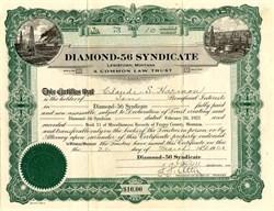 Diamond - 56 Syndicate - Lewistown, Montana 1921