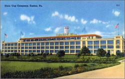 Dixie Cup Company Post Card - Eaton, Pennsylvania