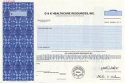 D & K Healthcare Resources, Inc. - Delaware
