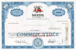Docktor Pet Centers, Inc.