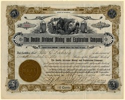 Double Dividend Mining and Exploration Company - Wyoming 1905