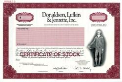 Donaldson, Lufkin & Jenrette, Inc. ( DLJ ) - RARE SPECIMEN