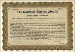 Dominion Estates, Limited - Canada