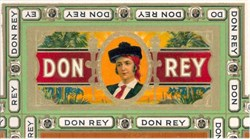 Don Rey Cigar Label