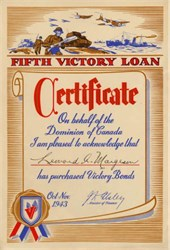 Dominion of Canada - Fifth Victory Loan  - 1943