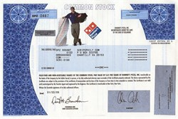 Domino's Pizza, Inc.  - Delaware