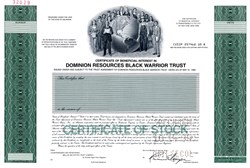 Dominion Resources Black Warrior Trust - Delaware 1994