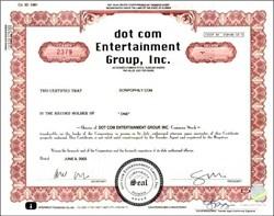 dot com Entertainment Group - Florida