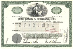 Dow Jones & Company, Inc. - New Jersey 1989