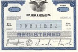 Dow Jones & Company, Inc. - New York 1987