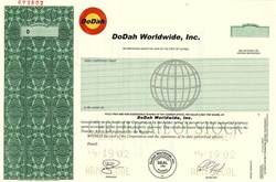 DoDah Worldwide, Inc. - Florida 2002