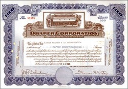 Draper Corporation - Famous Textile Loom Maker