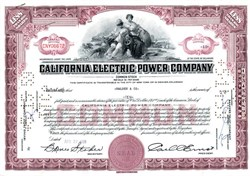 California Electric Power Company - 1959