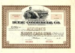 Dufau Commercial Co. - Habana, Cuba