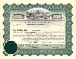 Dunham Incorporated signed by Otis Emerson Dunham - Massachusetts 1939