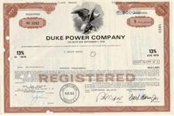 Duke Power Company Bond 13% Bond