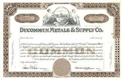 Ducommun Metals & Supply Co. - Los Angeles, California