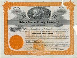 Duluth - Miami Mining Company - Oklahoma 1918