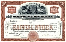 Durant Motors, Incorporated - Delaware 1925