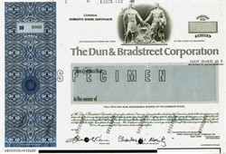 Dun & Bradstreet Corporation (Charles W. Moritz as Chairman)  - Delaware 1990