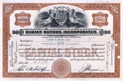 Durant Motors, Incorporated 1930