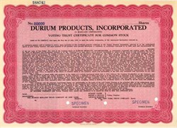 Durium Products, Incorporated - Famous Early Record Company