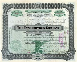 Dynelectron Company 1904