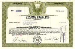 Dynamic Films, Inc. 1960
