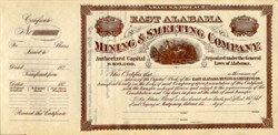 East Alabama Mining & Smelting Company - Montgomery, Alabama 1876