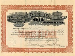 Eastern Consolidated Oil Company - Maine 1903