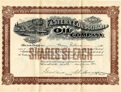 Eastern Consolidated Oil Company - Maine 1901