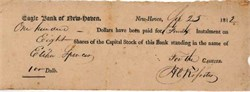 Eagle Bank of New Haven 1812