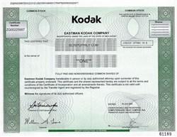 Eastman Kodak Company - New Jersey