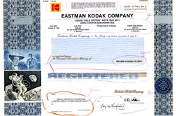 Eastman Kodak Company Production Proof - New Jersey 1992