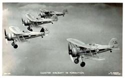 Early Bi Plane Photo Postcard
