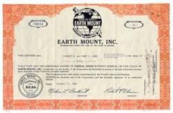 Earth Mount, Inc. 1960's