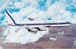 Eastern Airlines postcard Boeing 720