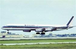 Eastern Airlines postcard Douglas DC-8
