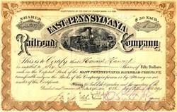 East Pennsylvania Railroad Company 1890's