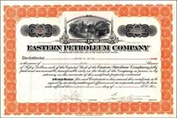 Eastern Petroleum Company 1917