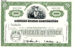 Eastern States Corporation (St. Regis Paper Company) - Maryland