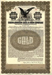 Eagan-Johnson Steel & Iron Company - Pennsylvania 1925