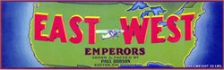 East West Emperors Label