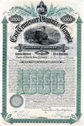 East Tennessee, Virginia and Georgia Railway Company - 1890