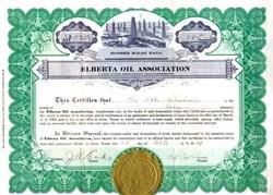 Elberta Oil Association, Texas - 1919