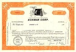 Eckmar Corp. - Delaware 1969