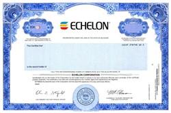 Echelon Corporation - Delaware